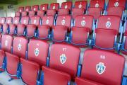Scaune stadion tapițată